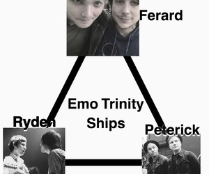 brendon urie, emo, and frank iero image