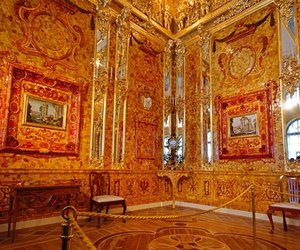 amber, orange, and amber room image