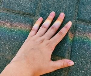 arco iris, foto, and rainbow image