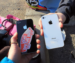 iphone, vans, and cool image