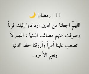 11, arabic quotes, and الله يارب image