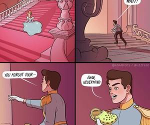 cinderella, funny, and lol image