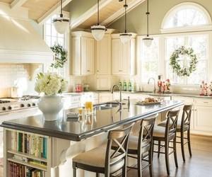 kitchen, interior, and home decor image