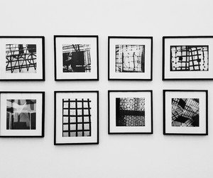 art, black and white, and minimal image