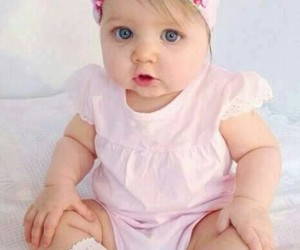 baby, lovely, and pink image