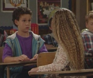 cory matthews, topanga lawrence, and ben savage image