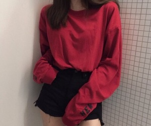 red, fashion, and style image