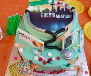 cake, great, and grey's anatomy image