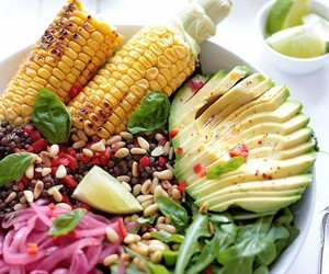 corn and healthy image