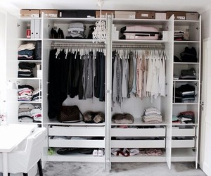 closet, deco, and order image