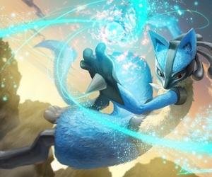 pokemon and lucario image