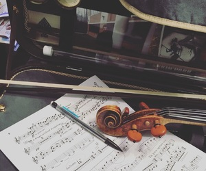 art, music, and orchestra image