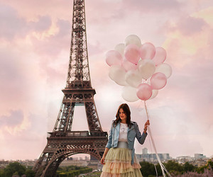 Dream, outfit, and globos image