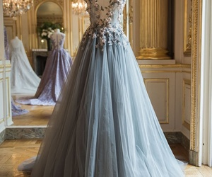 beautiful, gown, and Prom image