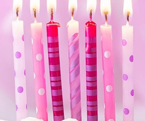 birthday, candle, and b'day image