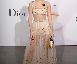 bella hadid, fashion, and dress image