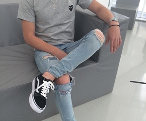 vans and jeans image