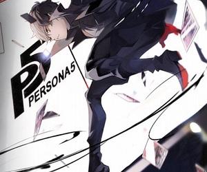 persona 5, anime, and anime boy image