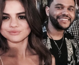 selena gomez, the weeknd, and abel image