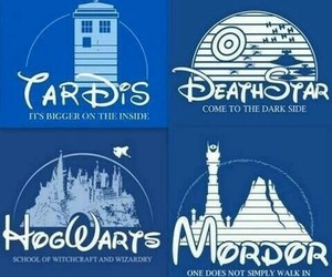 harry potter, hogwarts, and mordor image