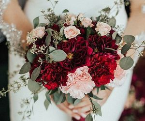 art, beautiful, and bouquet image