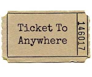 ticket, overlay, and anywhere image