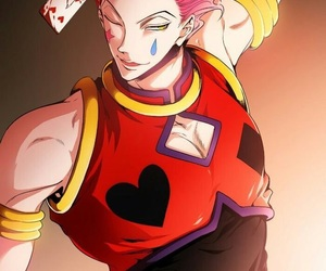 anime, hisoka, and hunter hunter image