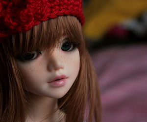 bokeh, cute, and doll image
