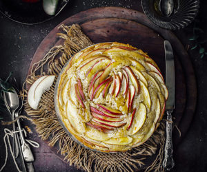 apple, spices, and cake image