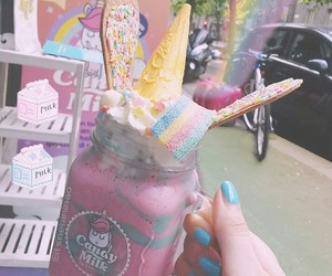 arcobaleno, bubble, and bubble tea image