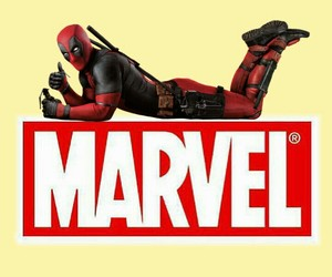 Marvel, dead pool, and lock screen image
