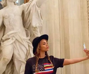 beyoncé, selfie, and art image