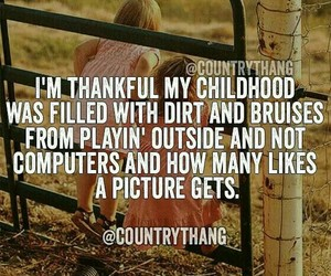 childhood, country, and country life image