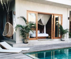 bikini, luxury home, and love image
