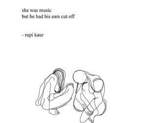 quotes, rupi kaur, and milk and honey image