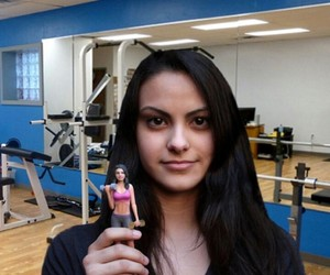 veronica lodge, riverdale, and camila mendes image