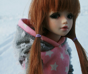 doll, harley, and snow image