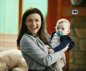 grey's anatomy, baby, and amelia shepherd image