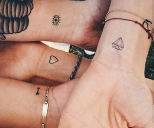 friendship, Tattoos, and cute image