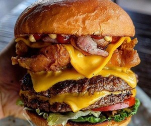 burgers and food image