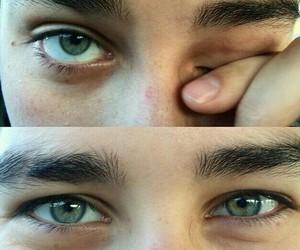 boy and eyes image
