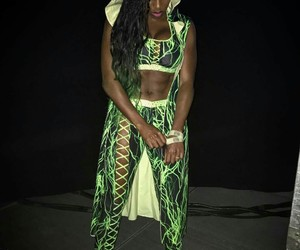 naomi, women, and wrestling image