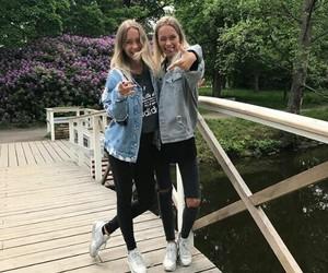 girl and twins image