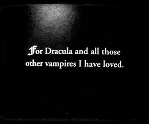 Dracula, vampire, and goth image