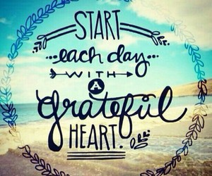 quotes, heart, and grateful image