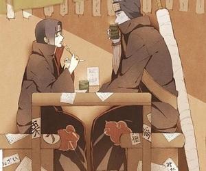 akatsuki, itachi uchiha, and anime image