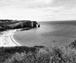 falaise, normandie, and paysage image