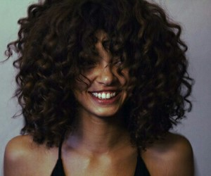 beautiful, hair, and curly image