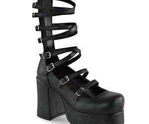 goth, demonia, and abbey sandals image
