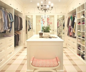 closet, home, and house image